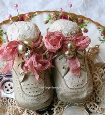 aj takto sa dajú využiť staré topánočky :-)