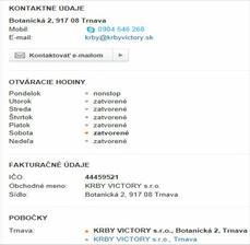 http://www.modrastrecha.sk/katalog/firma/krbyvictorysro/6645490/