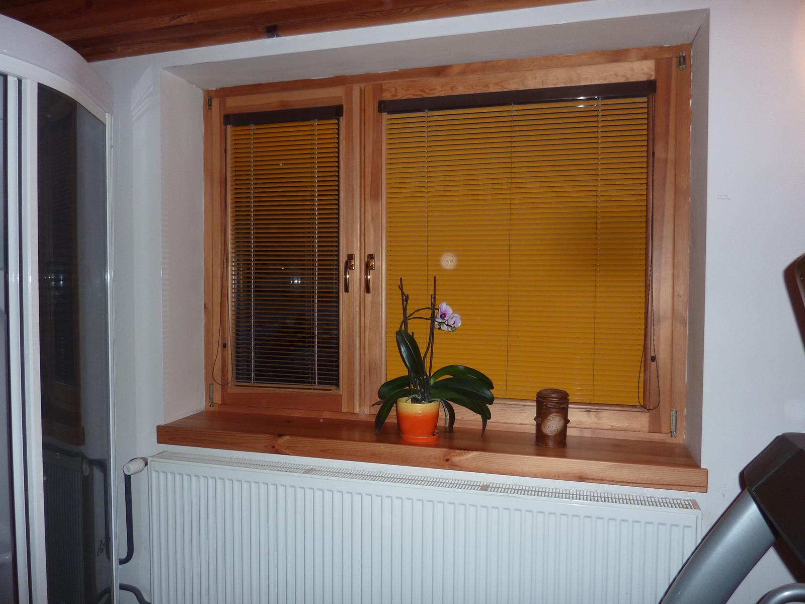 Moja praca, moja radost - toto je okno z borovice čo mam už najmenej 10 rokov,
