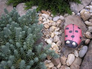 alebo malujeme na kamene neni to ziadne velke umenie ale ta radost ze to on...