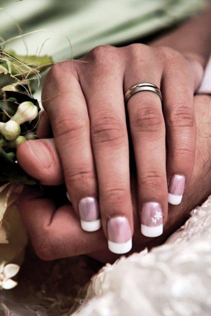 Prípravy na svadbičku - krásne nechtíky