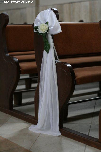 Prípravy na svadbičku - objednané do kostola