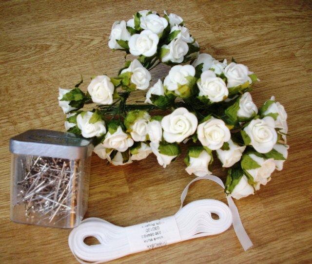Prípravy na svadbičku - veci na pierka