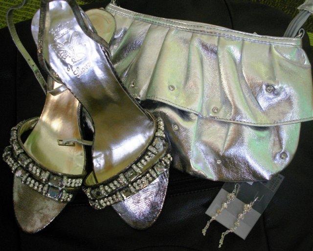 Prípravy na svadbičku - topky,kabelka a naušničky k popolnočným šatkám...po 19.9 napredaj všetko