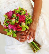Svatební kytice po 50.