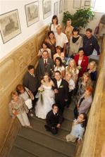 část svatebčanů