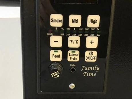 Peletový gril Family Time - Obrázok č. 2