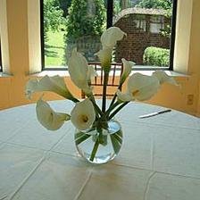 na stůl, ale do větší vázy...