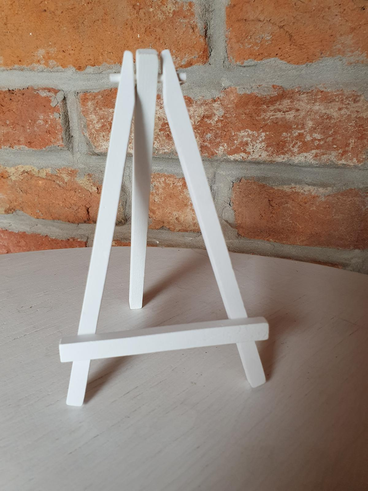 Drevené stojany na číslovanie stolov  - Obrázok č. 2