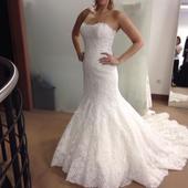 Svadobné šaty Pronovias - originál, 38