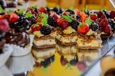 Lux mini tvarohový dezert s ovocem ;-)