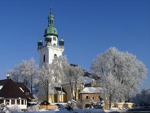 sobasit nas budu v kostole sv. Martina v Trstenej...pekny kostol :)