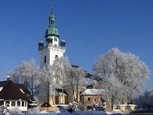 Naše prípravy - sobasit nas budu v kostole sv. Martina v Trstenej...pekny kostol :)