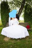 čipkované svadobné šaty vel.38-42, 38