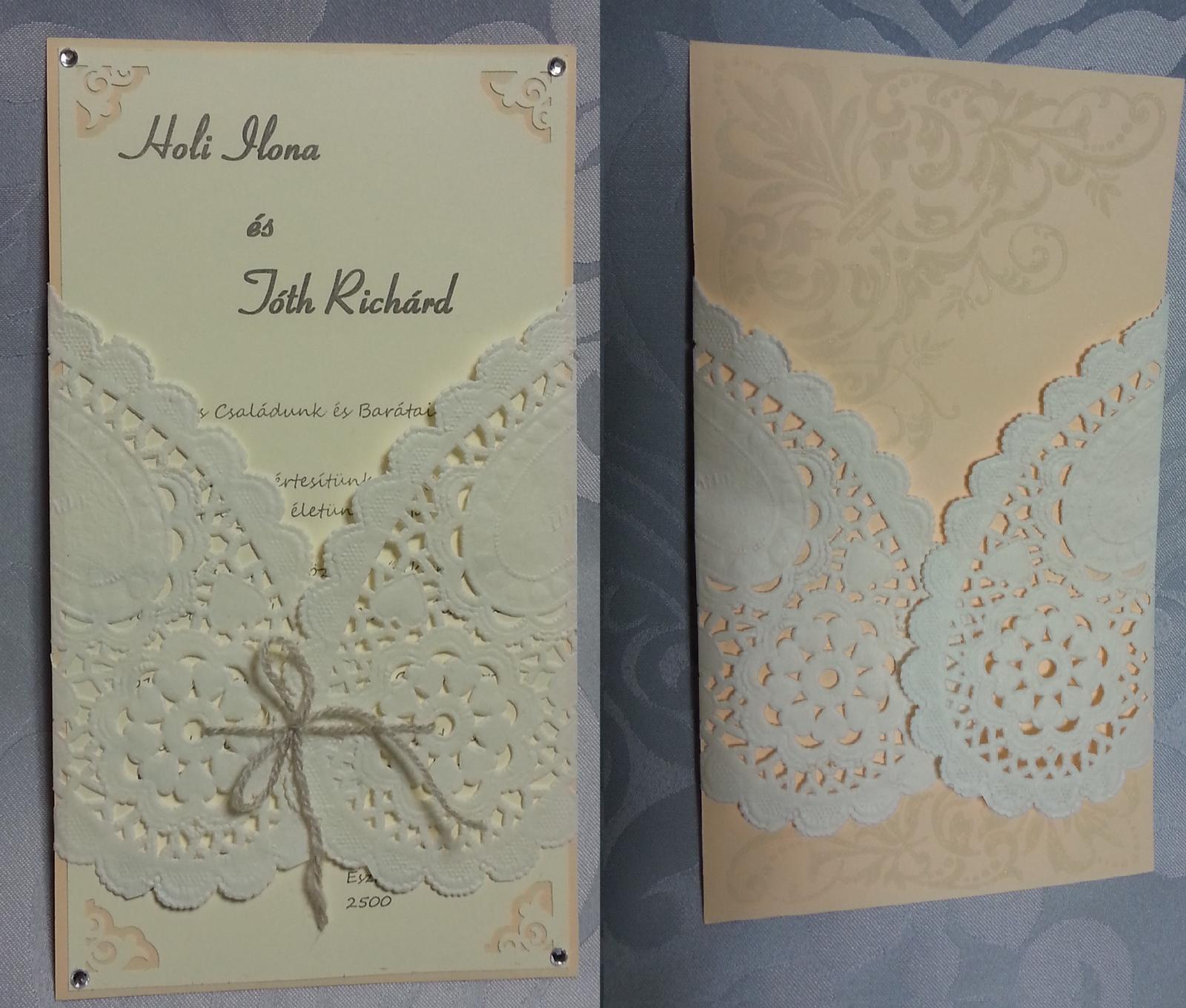 Naša Handmade :) - Naše handmade pozvánky