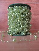 Zelené perličky na silikonu (60,52 m),