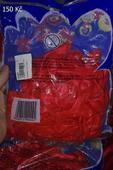 červené balonky,