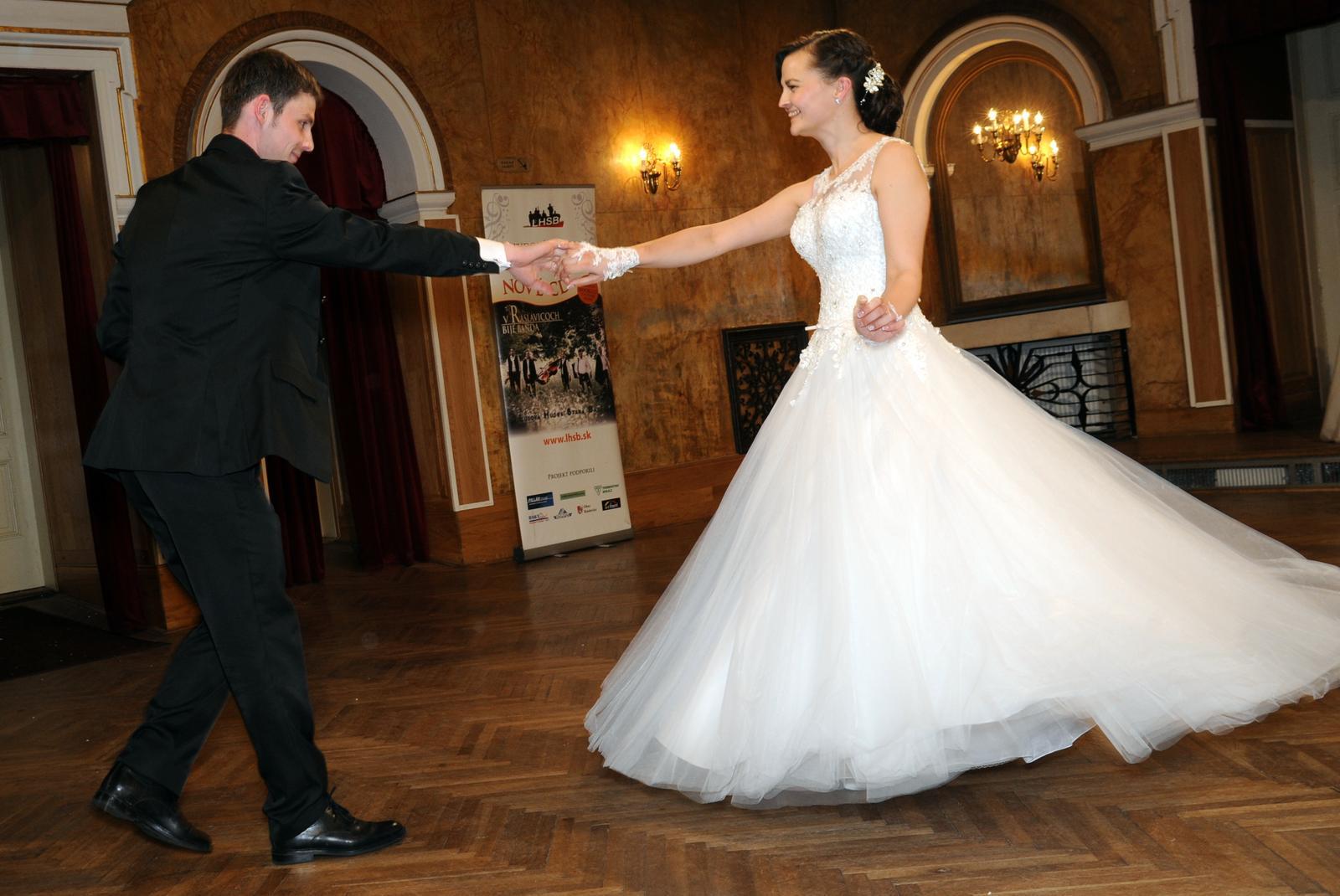 svadobné šaty ako pre popolušku 36 - Obrázok č. 4