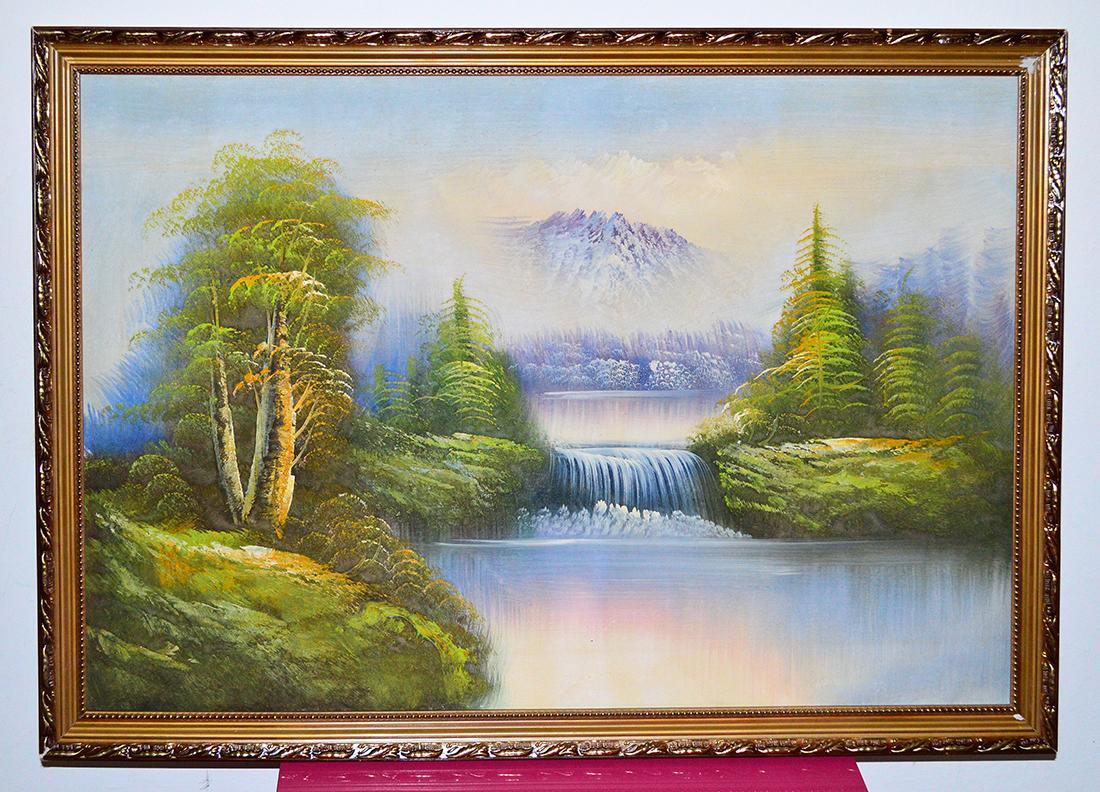 Malovany obraz, olejomalba - Obrázok č. 1