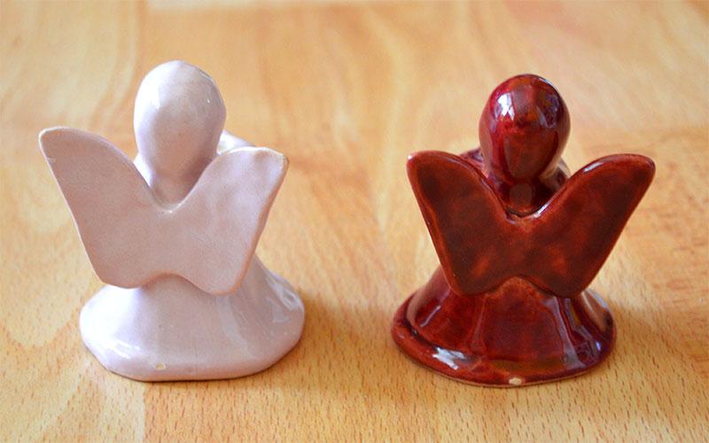 Keramicke figurky / postavicky Anjel - Obrázok č. 4