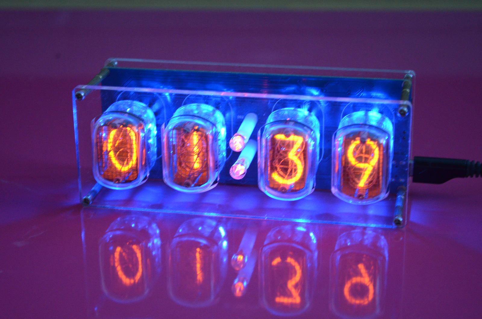 Nixie hodiny - Digitronove hodiny - Obrázok č. 1