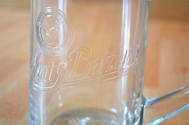 Pohar na pivo Zlaty Bazant 500ml - Obrázok č. 3