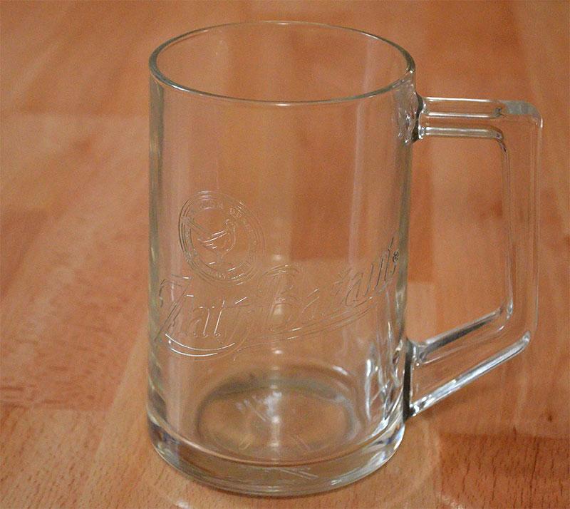 Pohar na pivo Zlaty Bazant 500ml - Obrázok č. 1