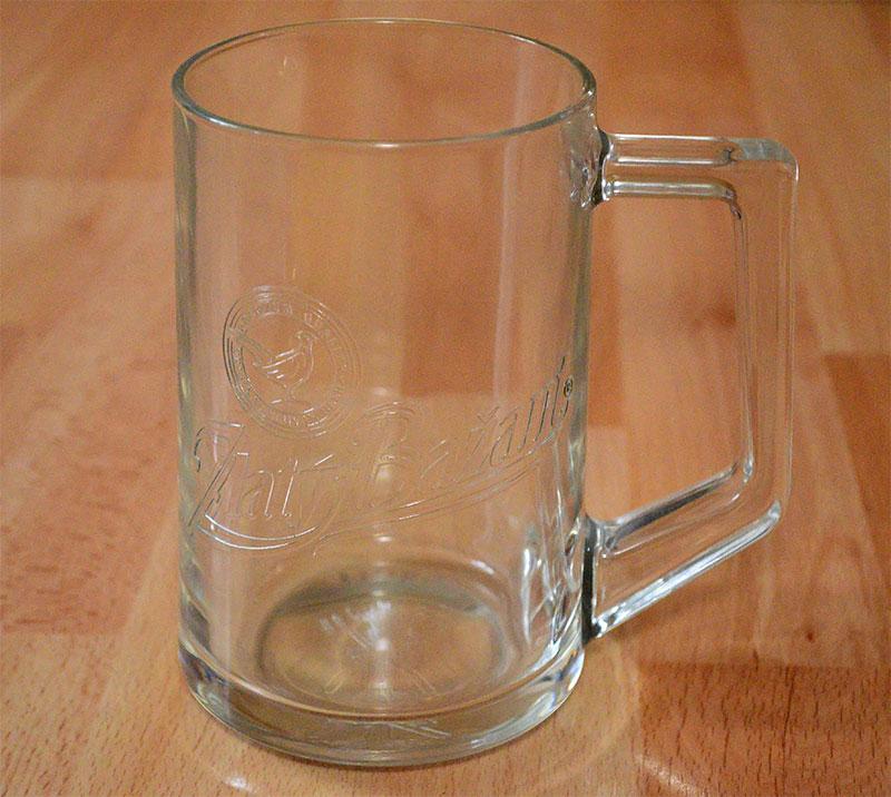 Pohar na pivo Zlaty Bazant 500ml - Obrázok č. 2