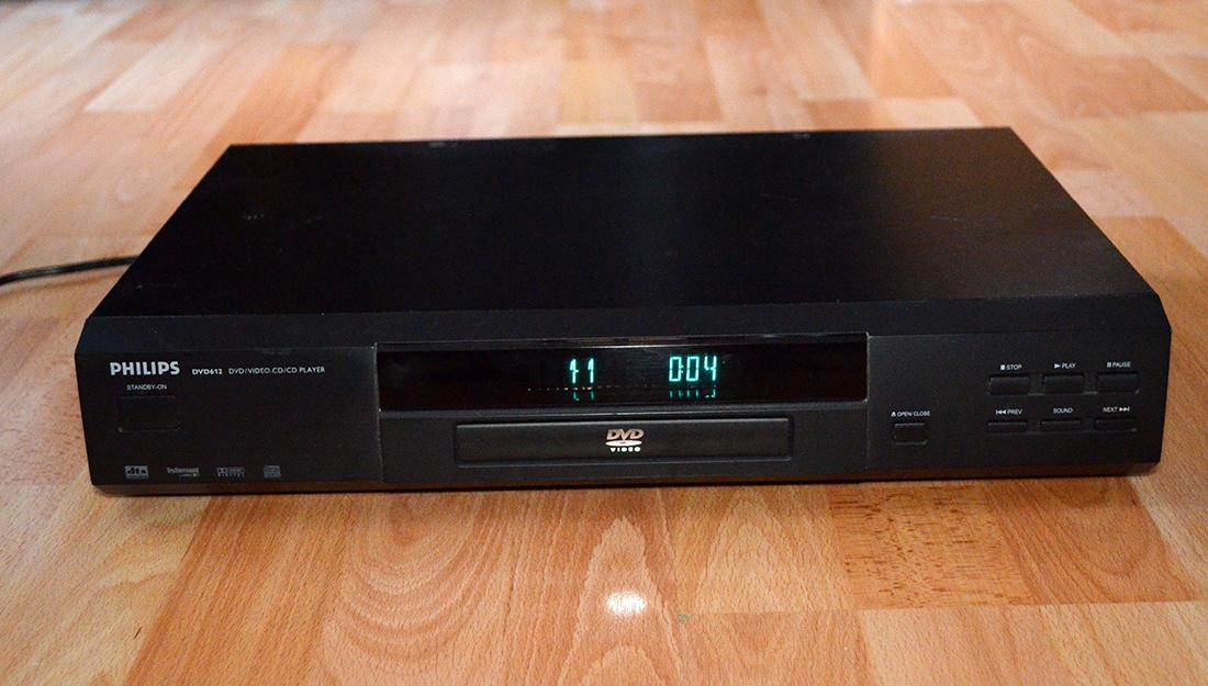 DVD prehravac Philips DVD 612 - Obrázok č. 2