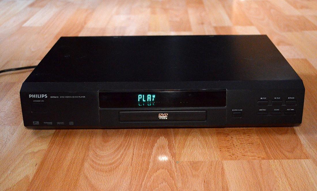 DVD prehravac Philips DVD 612 - Obrázok č. 1