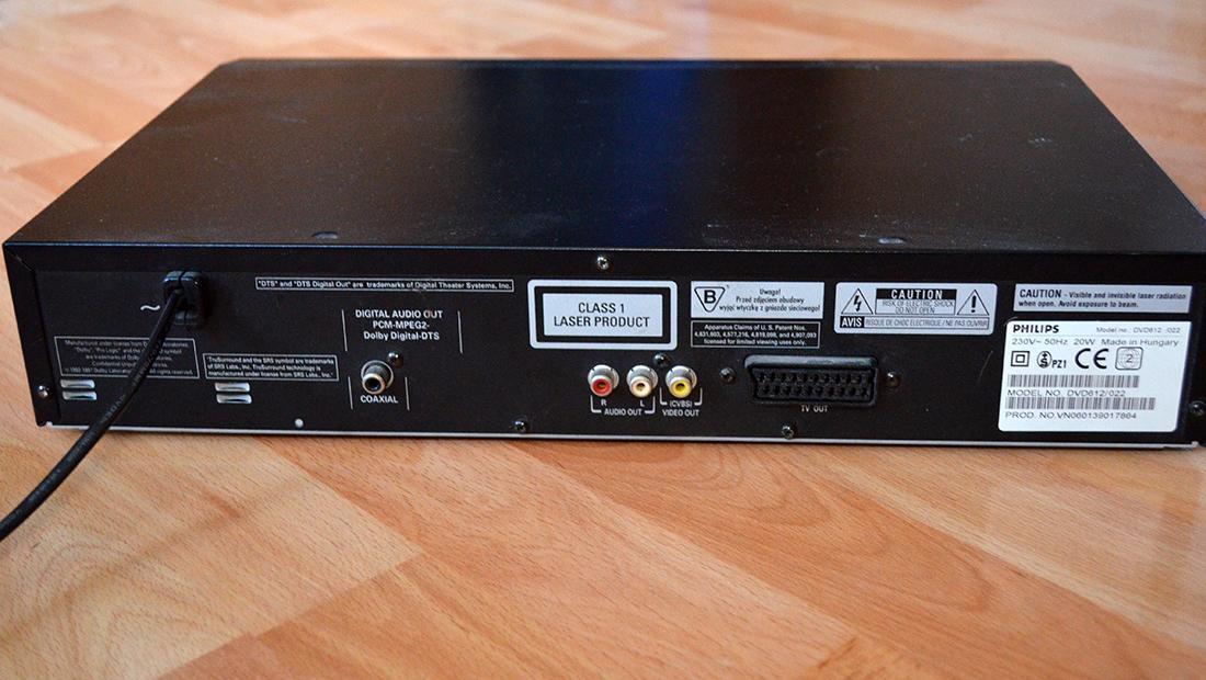 DVD prehravac Philips DVD 612 - Obrázok č. 3