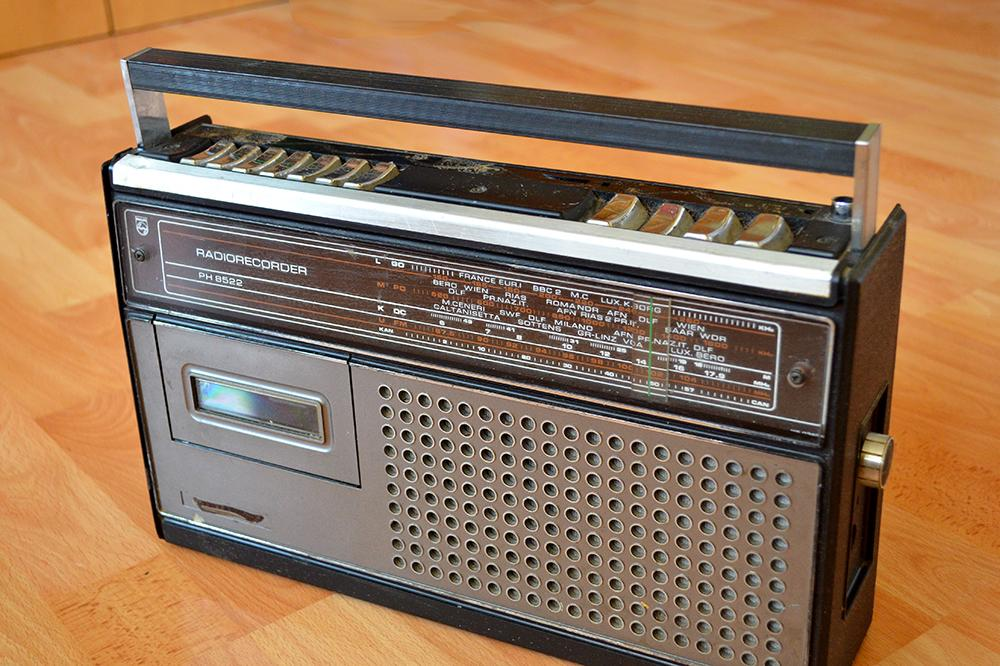 Retro kazetovy magnetofon Philips PH8522 - Obrázok č. 1