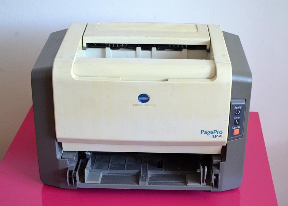 Laserova tlaciaren Konica Minolta PagePro 1350W - Obrázok č. 1
