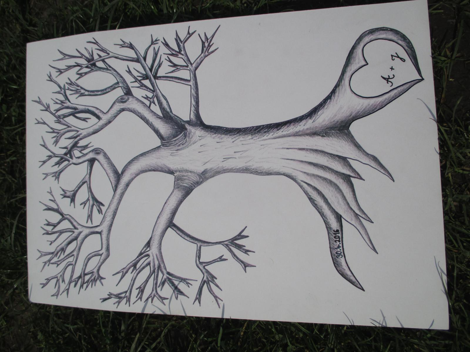 já kamarádce kreslila takovýhle... - Obrázek č. 1