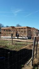 Dnes (28.3.) zahájena dřevokonstrukce