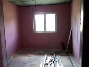 dětské pokoje jsou prostornější - cca 13m2