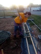 má milá žena mi pomáhá na všech frontách - vyrovnání pod plotovky