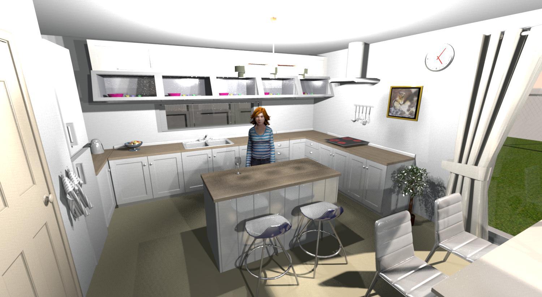 Do it myself - 3D kuchyně