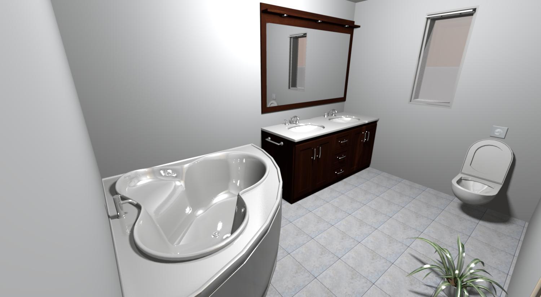 Do it myself - horní koupelna