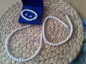 Svatební sada perlová 4 dílná,