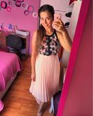 Pudrová sukně, třeba pro družičku, 36
