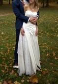 Romantické nadčasové svatební šaty , 38
