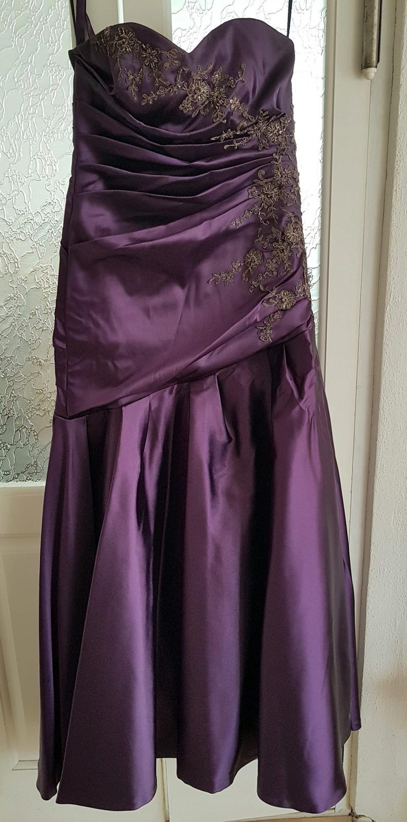 Spoločenké šaty 38-40 - Obrázok č. 4