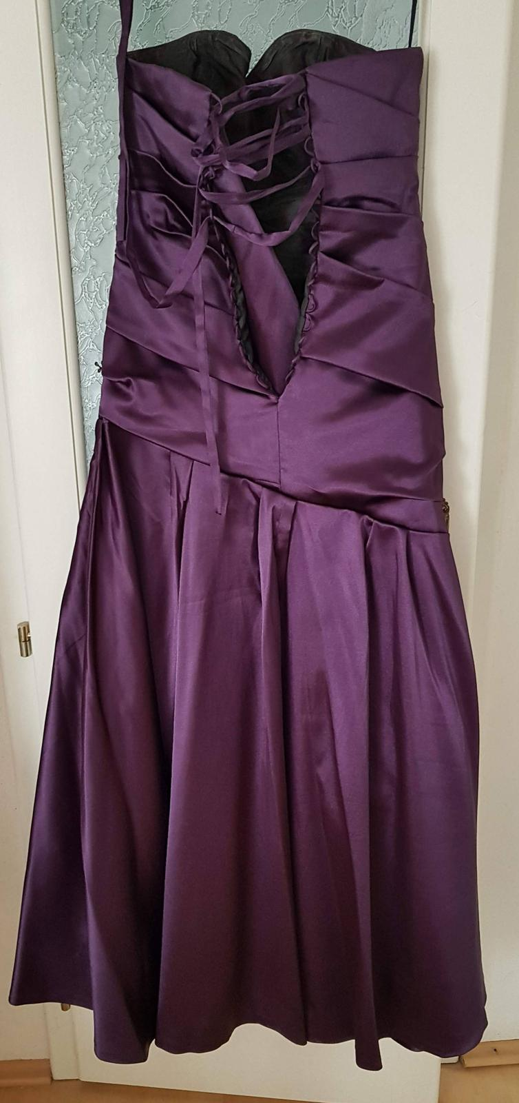 Spoločenké šaty 38-40 - Obrázok č. 2