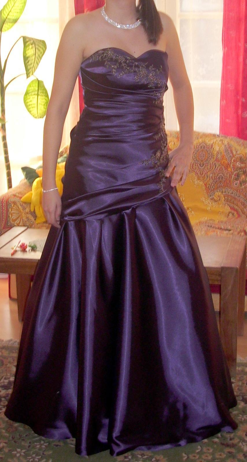 Spoločenké šaty 38-40 - Obrázok č. 1