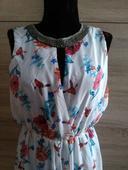 Kvetované šaty, XL
