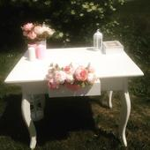 Stůl antik -Půjčovna dekorací,
