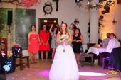 Zoštíhľujúce svadobné šaty, šnurovacie 38-42, 40