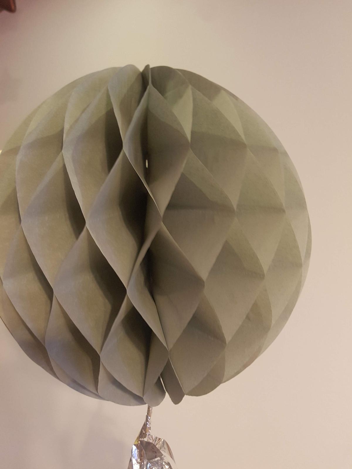 lampionky ozdobné koule  - Obrázek č. 4