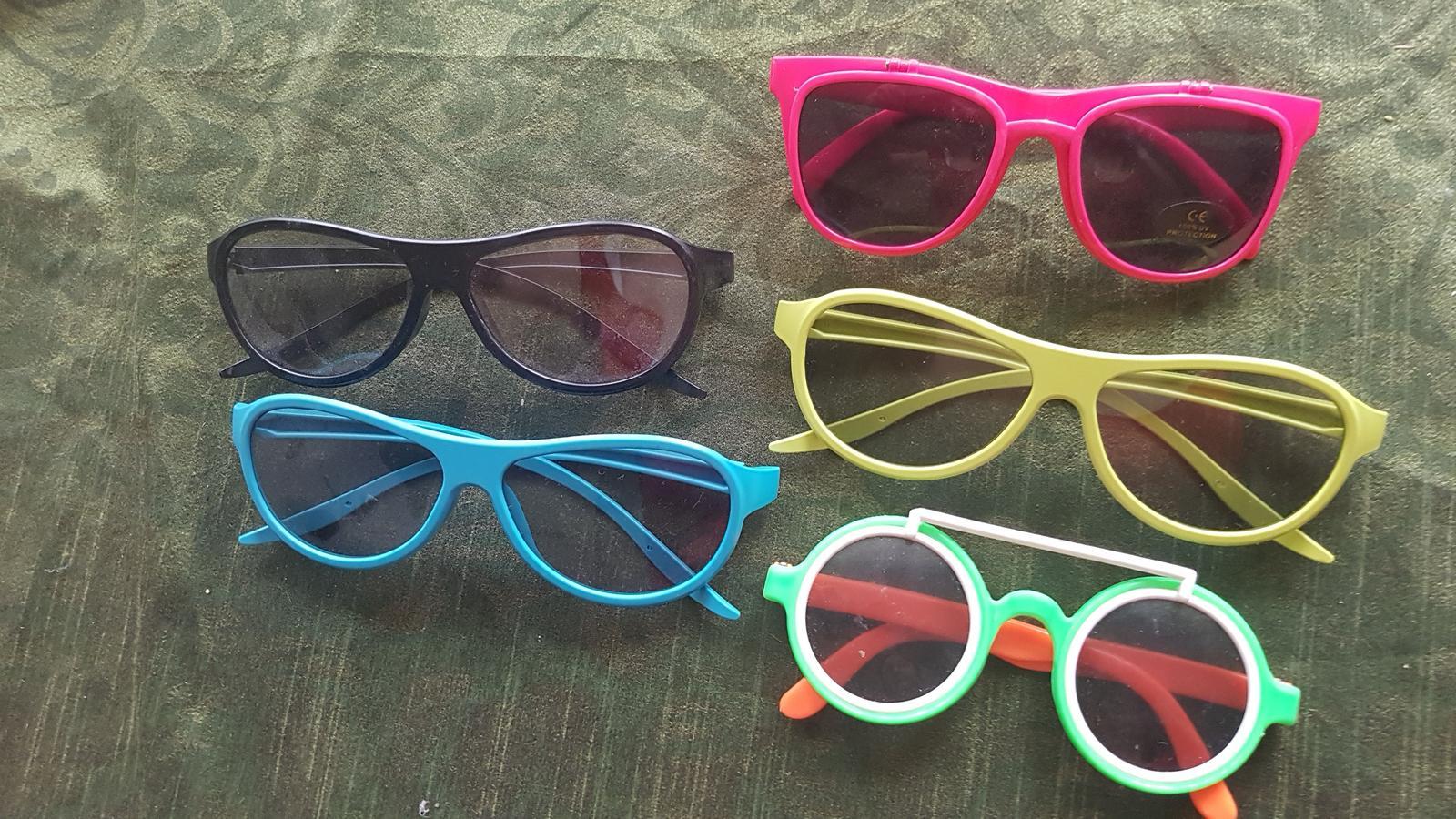 Brýle fotokoutek set 5 kusů - Obrázek č. 1